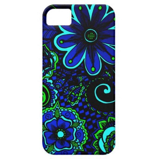 Joyero del océano floral funda para iPhone SE/5/5s