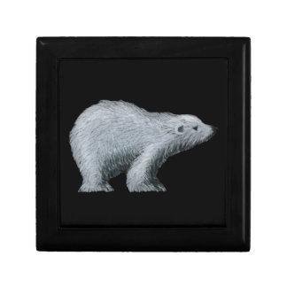 Joyero del oso polar