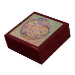 Joyero en colores pastel de Shell Cajas De Recuerdo