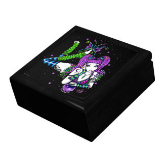 Joyero mágico de la hada de la mariposa del arco i caja de regalo