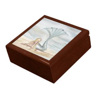 Joyero reflector de la sirena cajas de recuerdo