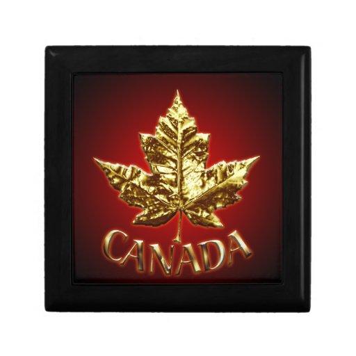 Joyeros de Canadá de la medalla de oro de la caja  Caja De Recuerdo