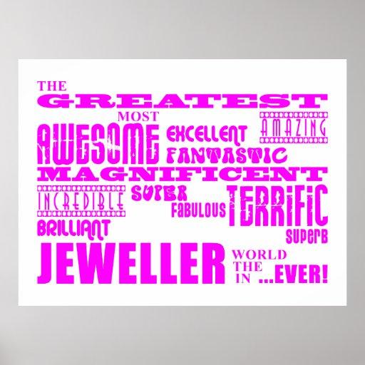 Joyeros de los chicas: Joyero más grande rosado Poster