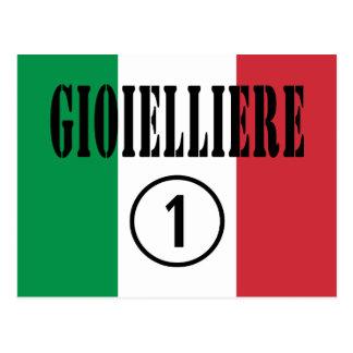 Joyeros italianos: Uno de Gioielliere Numero Tarjetas Postales
