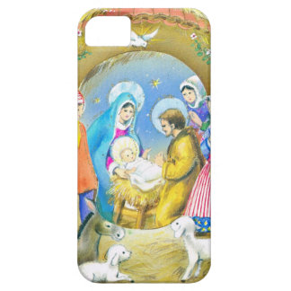 Joyeuse Noel, Vintage French Christmas Card iPhone 5 Cover