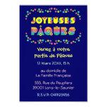 Joyeuses Pâques 3.5x5 Paper Invitation Card