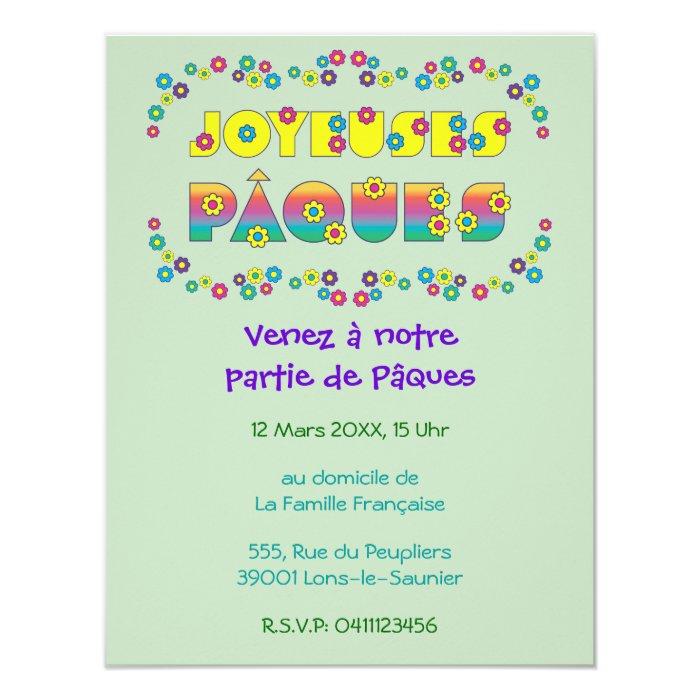 Joyeuses Pâques Card