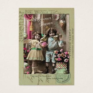 Joyeuses Pâques Easter Business Card