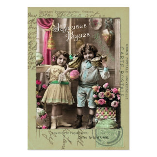 Joyeuses Pâques Easter Large Business Cards (Pack Of 100)