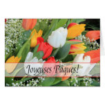 Joyeuses Pâques French Happy Easter Greeting Card