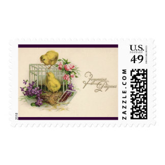 Joyeuses Paques (Happy Easter) Stamp