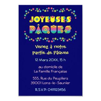 """Joyeuses Pâques Invitación 3.5"""" X 5"""""""
