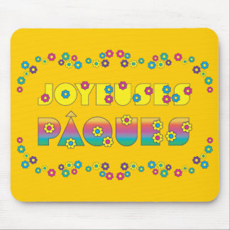 Joyeuses Pâques Mouse Pad