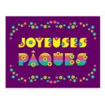 Joyeuses Pâques Post Cards
