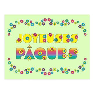 Joyeuses Pâques Postcard