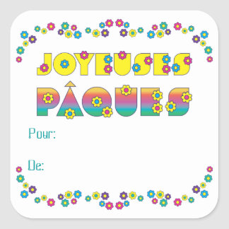 Joyeuses Pâques Stickers