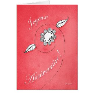 Joyeux Anniversaire ! Card