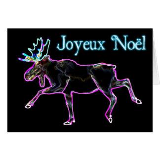 Joyeux Noёl - Electric Moose Card