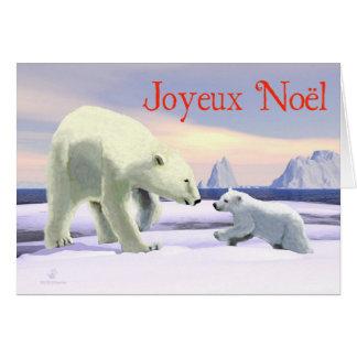 Joyeux Noёl - mamá Nose Best Felicitacion