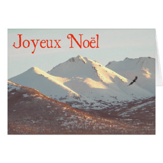 Joyeux Noёl - Winter Eagle Card