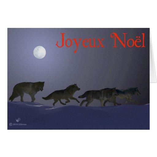 Joyeux Noёl - Wolfpack Felicitacion