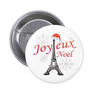 Joyeux Noel 2 Inch Round Button