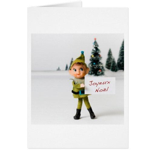 Joyeux Noel 6695 Tarjeta De Felicitación