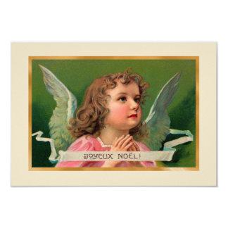 Joyeux Noel Angel Card or Invitation
