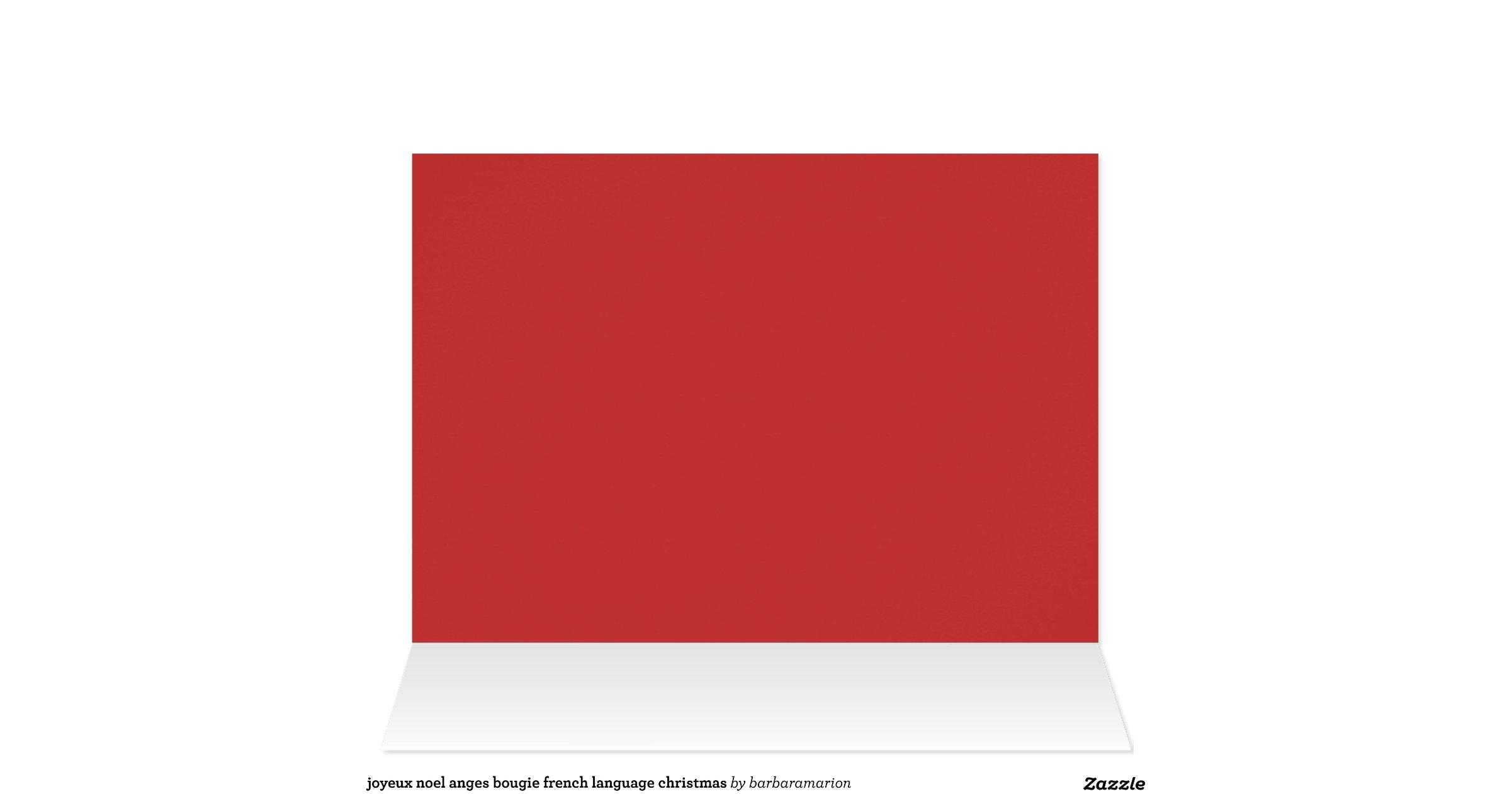 joyeux noel anges bougie french language christmas greeting card zazzle. Black Bedroom Furniture Sets. Home Design Ideas