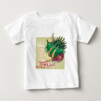 Joyeux Noel Baubles Baby T-Shirt