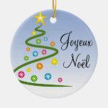 Joyeux  Noël Ceramic Ornament