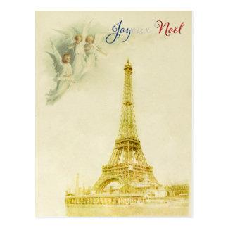 Joyeux Noel Christmas Postcard