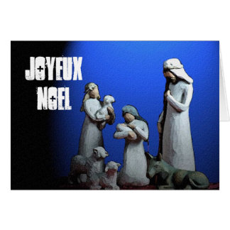 Joyeux Noel ChristmasCard Cards