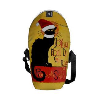 Joyeux Noël Du Chat Noir Courier Bag