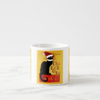 Joyeux Noël Du Chat Noir Espresso Cup