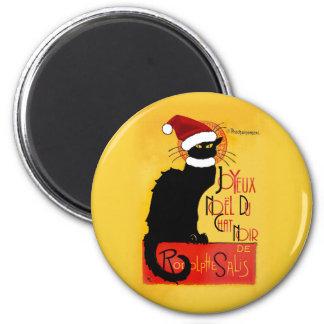 Joyeux Noël Du Chat Noir Imán Redondo 5 Cm