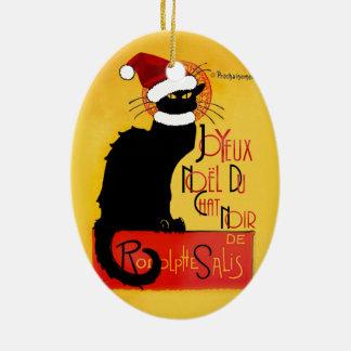 Joyeux Noël Du Chat Noir Ornament