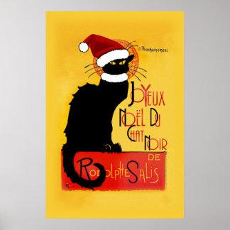 Joyeux Noël Du Chat Noir Póster