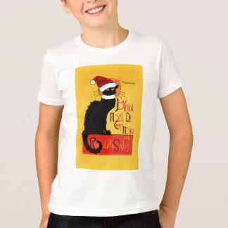 Joyeux Noël Du Chat Noir T-Shirt