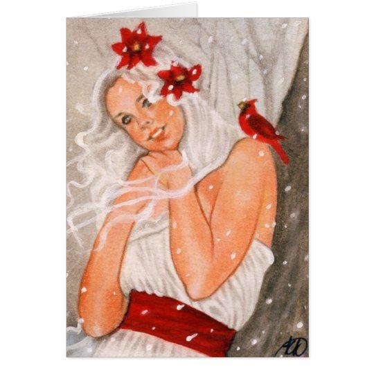 Joyeux Noel Fairy Card