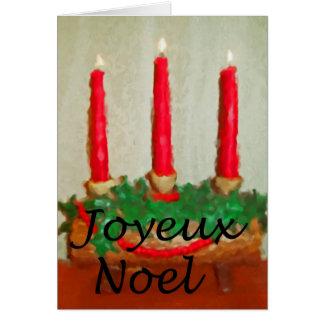 Joyeux Noel Felicitacion