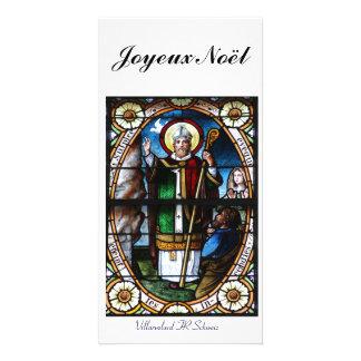 Joyeux Noël Fotokarte Tarjetas Fotográficas Personalizadas