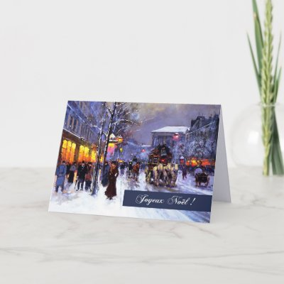 Street scene christmas morning childe hassam holiday card street scene christmas morning childe hassam holiday card zazzle m4hsunfo