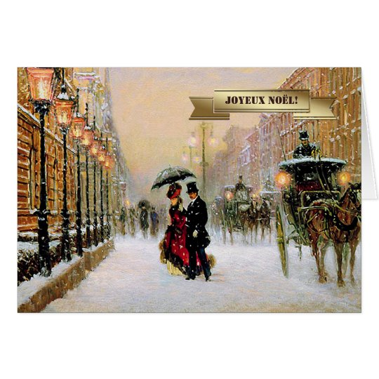 Joyeux nol french christmas greeting cards zazzle french christmas greeting cards m4hsunfo