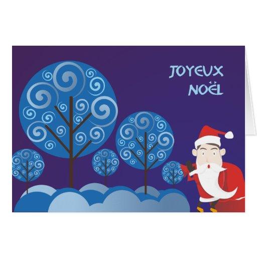 Joyeux Noël Greeting Card