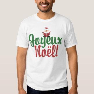 Joyeux Noel Happy Christmas Tee Shirt