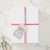 Joyeux Noel Holiday Gift Tags
