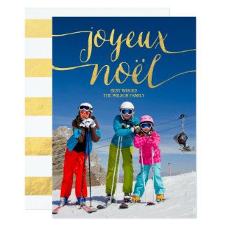 Joyeux Noel | Holiday Photo Card