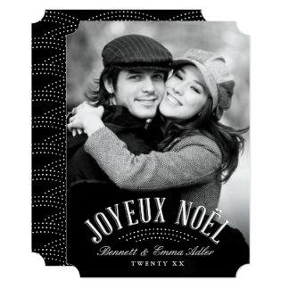 Joyeux Noel Holiday Photo Card