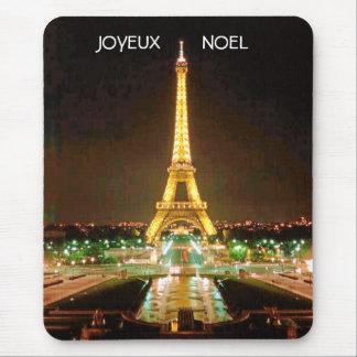 JOYEUX, NOEL  (MERRY CHRISTMAS) MOUSE PAD